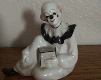 Clown figurine vintage Japan