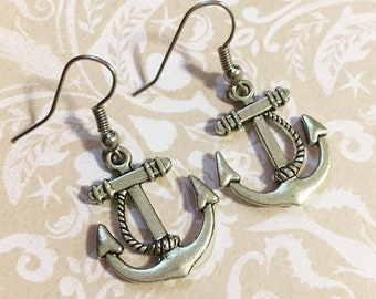 Anchor Earrings you are my anchor
