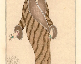 Art Deco Fashion Print by Barbier from 1912