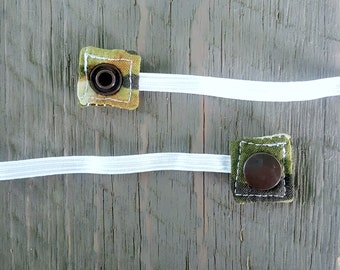 Replacement Snap-On Elastic for Nebulizer Head Straps -- Camo