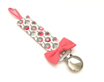Pacifier Clip - Budding Floral