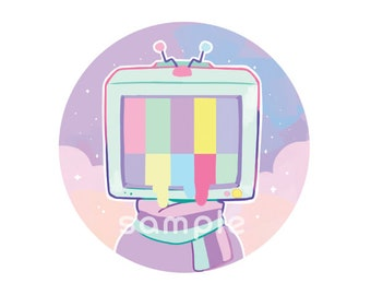TV Head Big Button