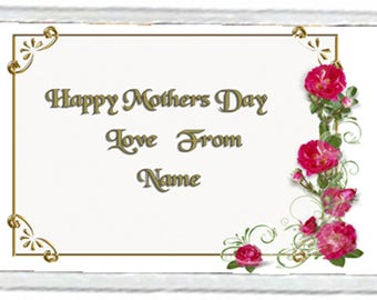 Mother's Day Acrylic Fridge Magnet Number 6
