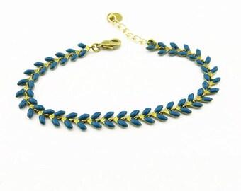 Fancy (dark blue) BCFA10001 bracelet