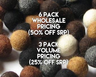 Collection - 60PC Neutral Felt Balls