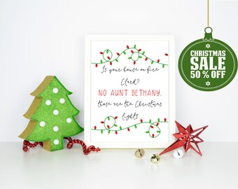 50% OFF  Christmas Vacation Quote- INSTANT DOWNLOAD - Printable 8x10 & 5x7