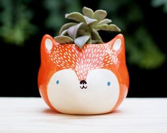 Orange wolf