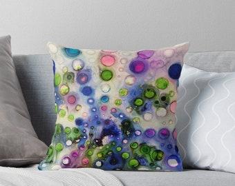 Throw Pillow Bubble #2