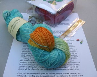 Basic Sock Knitting Kit