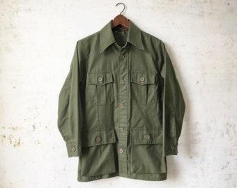 Vintage 50s 10X Walls American Sportswear Hunting Cargo Light Jacket Mens Sm