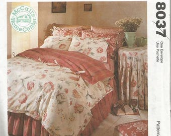 McCall's 8037  Bedroom Essential Pattern  CLEARANCE ITEM