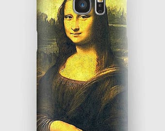 Case for Samsung S5, S6, S6 + S7, S7 +, S8, S8 +, A3, A5, J3, GP Note 4,5, 8, Mona Lisa