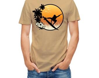 T-shirt Surfboard surf surfer surfing board 23739