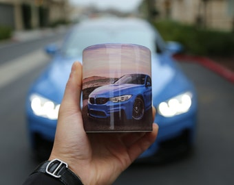 Custom High Quality & Vivid Colors Photo Mug For The Car Enthusiast! Available in 9 Colors. Ships within 2 days!