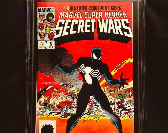Marvel Super Heroes Secret Wars #8 CGC 7.5