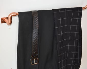 Copper Valet / Ideal pant hanger/clothing hanger/ towel rail/blanket stand/men's gift