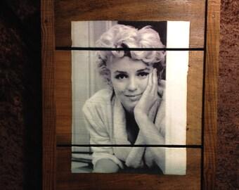 Vintage Marilyn Monroe Grape Tray
