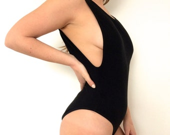 Flattering One Piece Swimsuit (Low Back)