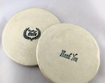 Ceramic Coasters (made to order)