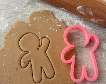 Gingerbreadman Hands UP and Down cookie cutter