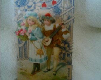 Vintage German Valentine Foldout
