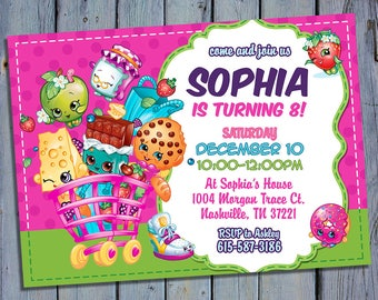 birthday card invitations