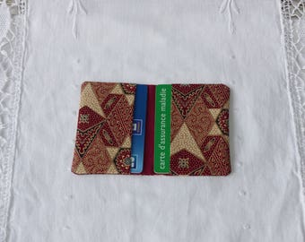 Original fabric card holder
