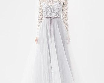 Silver rain || boudoir dress