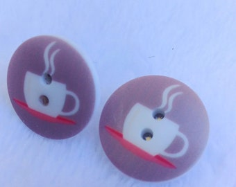 Have A Cuppa Earrings