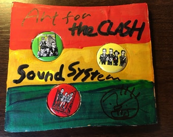 New Badges  for the Clash sound system