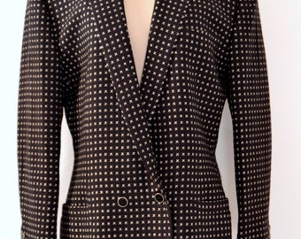 Classic GIANNI VERSACE COUTURE 1980's Jacket