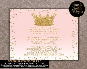 Princess Book Request Cards
