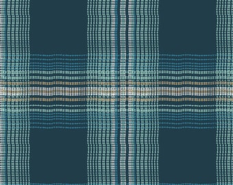 Pat Bravo for Art Gallery FABRIC - Dare Voile - Wafting Plaid Marked