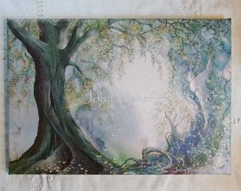 Elements-Autumn A3 canvas