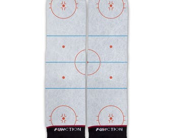 Function - Ice Hockey Rink Fashion Sock