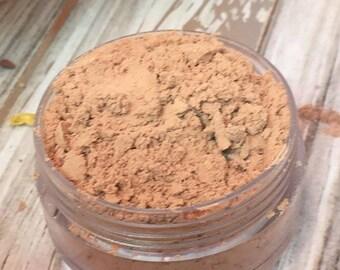 Honeyed Beige Mineral Makeup EyeShadow 5g Jar Honey Beige Eye Shadow Vegan Friendly Mineral Make up Loose Eyeshadow