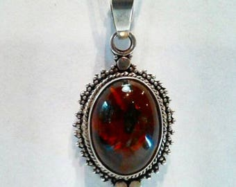 Antique Amber Witch Necklace