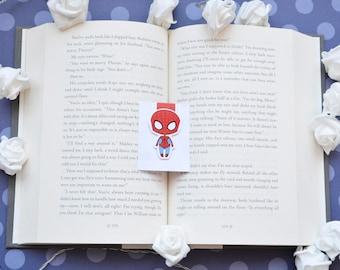 Spiderman magnetic bookmark