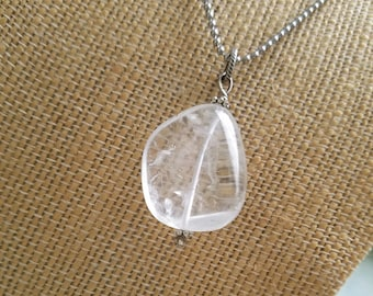 Quartz Balance and Harmony Necklace