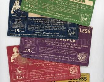 Vintage Putnam Dye Packets