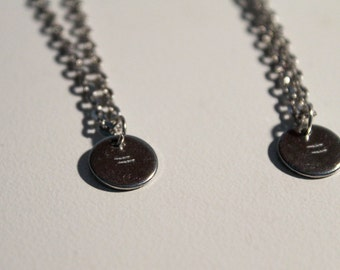 Equality/= Hand Stamped Equality Necklace