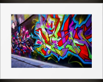 Melbourne Art Print - Graffiti Art - Graffiti Photography - Melbourne Print - Melbourne Australia - Street Art - Urban Photography
