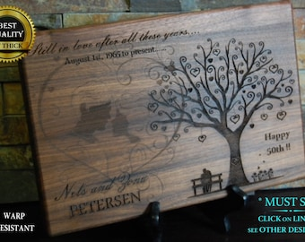 Personalized Cutting Board, Engraved Cutting Board, Custom Board, Wedding Gift, Anniversary, Bridal Gift, Christmas Gift