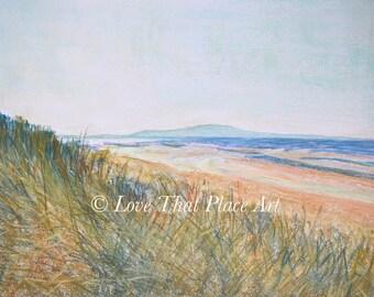 Sand Dunes, Troon Beach, Ayrshire