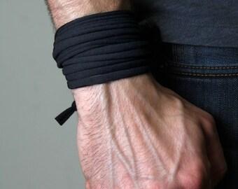 Men Bracelet, Bracelet for men, Black Bracelet, Gift for Men, Boyfriend Gift, Mens Gift, Festival Clothing, Burning Man, Husband Gift
