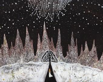 Fine Art Print-Avalene & the Star-Cloud