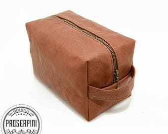 Vintage style Dopp kit, Personalized Shaving bag, Leather Dopp kit, Gift for men, Gifts for him, Men Toiletry bag, Leather Travel kit, pouch