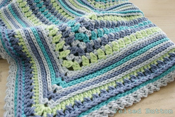 Blanket Crochet Pattern Breath Of Heaven Baby Girl Boy
