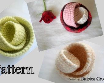Crochet Nesting Bowls Pattern PDF  5 Sizes (016)