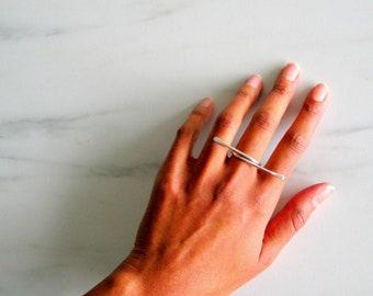 Statement Ring, boho ring, statement ring, statement rings, geometric ring, gold hammered ring, modern ring, geometrical ring